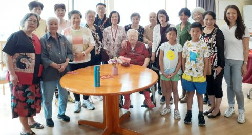 Aged care facility visit